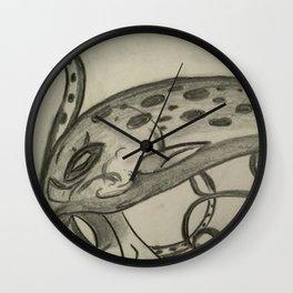 Sketch of the King Kraken Wall Clock
