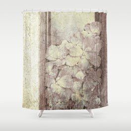 Flowers in the water Shower Curtain