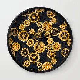 Gearing Up Wall Clock