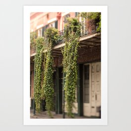 Down in the Quarter Art Print