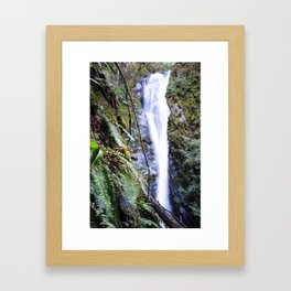 The Lines Found in Nature Framed Art Print