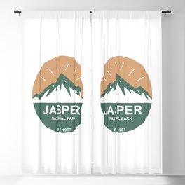 Jasper National Park Blackout Curtain