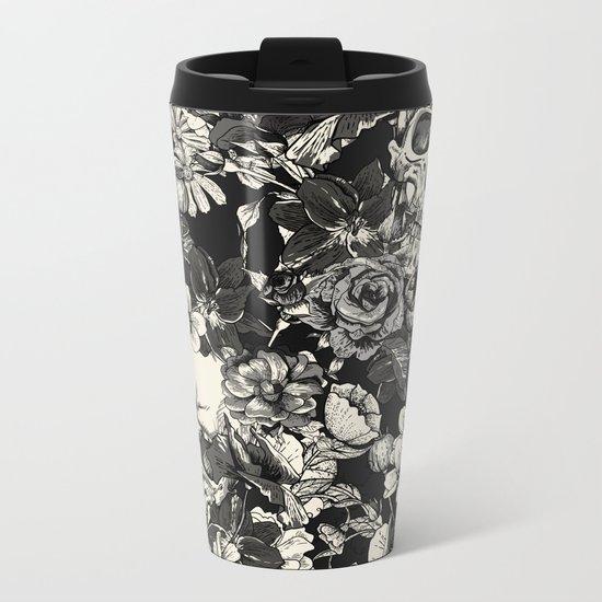 SKULLS Metal Travel Mug
