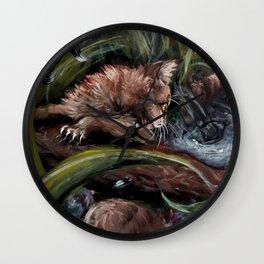 Stormpaw's Slip Wall Clock