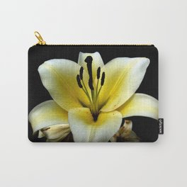 Wonderful Flower yellow and black Carry-All Pouch