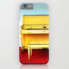 Out of Tune - Vintage Beach Piano iPhone 6s Slim Case