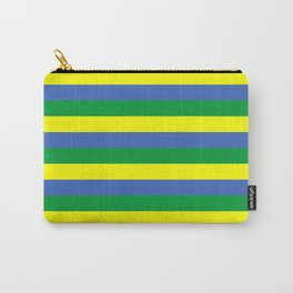 gabon flag stripes Carry-All Pouch