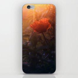 Summer Poppy iPhone Skin