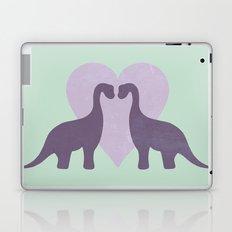 Prehistoric Love - sans text Laptop & iPad Skin