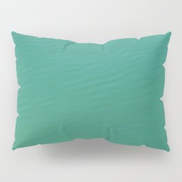 teal waters texture Pillow Sham