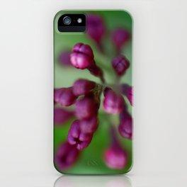 Arboretum Lilac iPhone Case