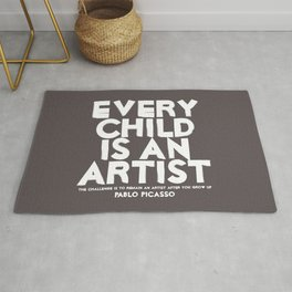 Artist - Quotable Series Rug
