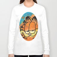 garfield Long Sleeve T-shirts featuring Garfield by Brieana