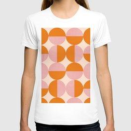 Abstraction_SUN_Circle_Pattern_Minimalism_001 T-shirt