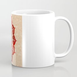 omulyána red gallery mandala Coffee Mug