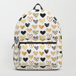 Pattern from painted hearts Backpack