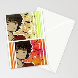 spooky nico Stationery Cards