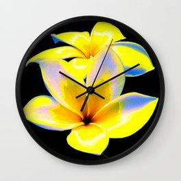 Flower Bow Wall Clock