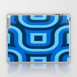 Blue Truchet Pattern Laptop & iPad Skin