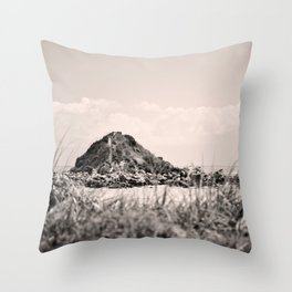 Monkey Island, Southland, New Zealand Throw Pillow