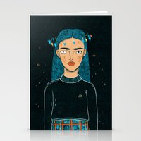 hologram Stationery Cards featuring In A Hologram With You by a thousand daisies