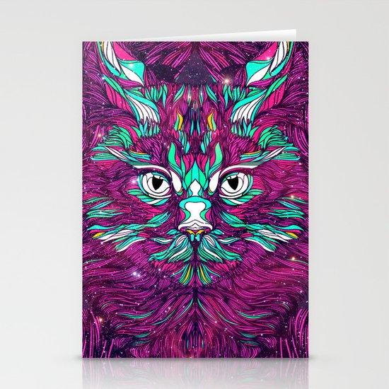 Space Cat (Feat. Bryan Gallardo) Stationery Cards