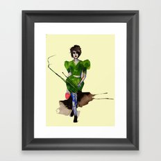 Models Ink 11 Framed Art Print