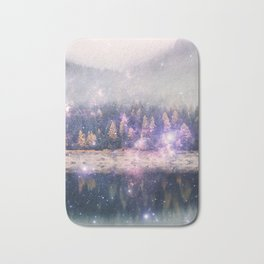Star Forest Bath Mat