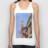 cleveland Tank Tops featuring Cleveland West Side Market by TiffanyOneillPhotography
