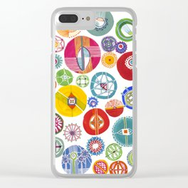 Kaleidoscope Clear iPhone Case
