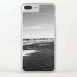 Pacific beach Clear iPhone Case