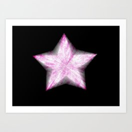 Star on the Rise Art Print