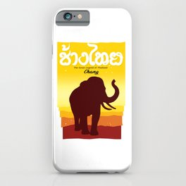 Thai Elephant iPhone Case