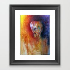 Deciding Framed Art Print