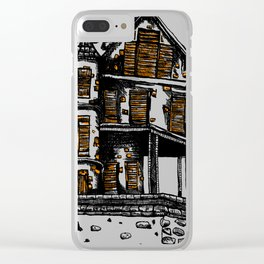 The Old Hiltop Home Clear iPhone Case