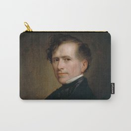 President Franklin Pierce Painting - George Healy Carry-All Pouch