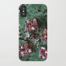 Digging in the dirt iPhone Case