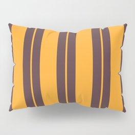 Retro Vintage Striped Pattern Pillow Sham