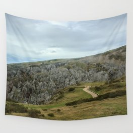 Cantabrian Mountains Wall Tapestry