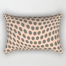 Retro Polka Dots 2a Rectangular Pillow