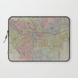 Vintage Map of Syracuse New York (1920) Laptop Sleeve