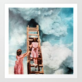 ESCAPE ROUTE Art Print