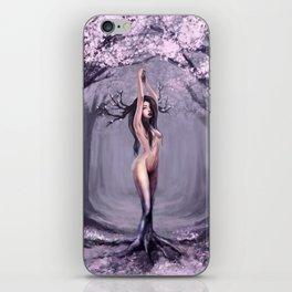 Cherry blossom spirit iPhone Skin
