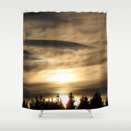 Descension Shower Curtain