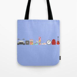 Back to the Future - Iconic Props Tote Bag