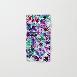 La Flor Plum Hand & Bath Towel