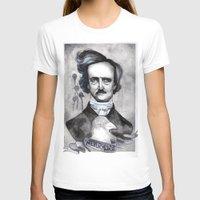 edgar allan poe T-shirts featuring Edgar Allan Poe by JsuauG