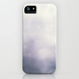 Misty Abstract iPhone Case
