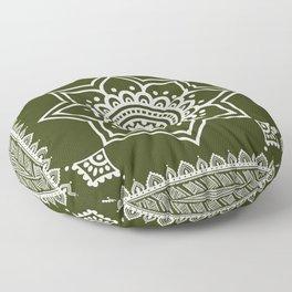 Ethnic Chive Floor Pillow