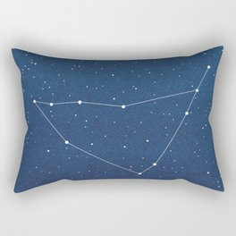 Capricorn Constellation, zodiac, house Rectangular Pillow